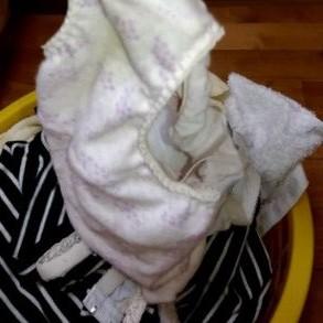 妹が着用した汚れクロッチ